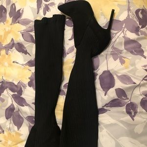 Zara Basic Collection Black Boots